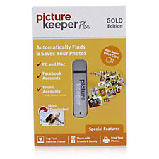 Picture Keeper Plus Photo Backup USB Drive for PC or Mac