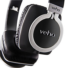 Veho Z8 On Ear Wired Headphones with Anti-Tangle Cable
