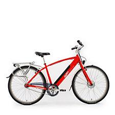 EMU Electric Crossbar Bike with Integrated Lights & Cargo Bag