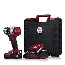 510078 - Einhell 18v Cordless Impact Driver with 2 Batteries & Charger