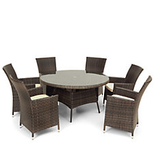 California 7 Piece Garden Dining Set