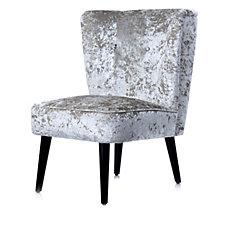 JM by Julien Macdonald Signature Velvet Cocktail Chair