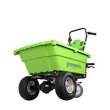 Greenworks 40v Self Propelled Garden Cart with 2 Batteries