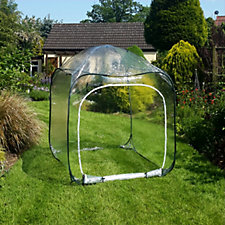 GardenSkill Medium Pop Up Net Cage with Ground Pegs