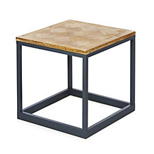 BundleBerry by Amanda Holden Parquet Top Side Table