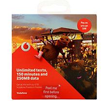 Vodafone PAYG SIM