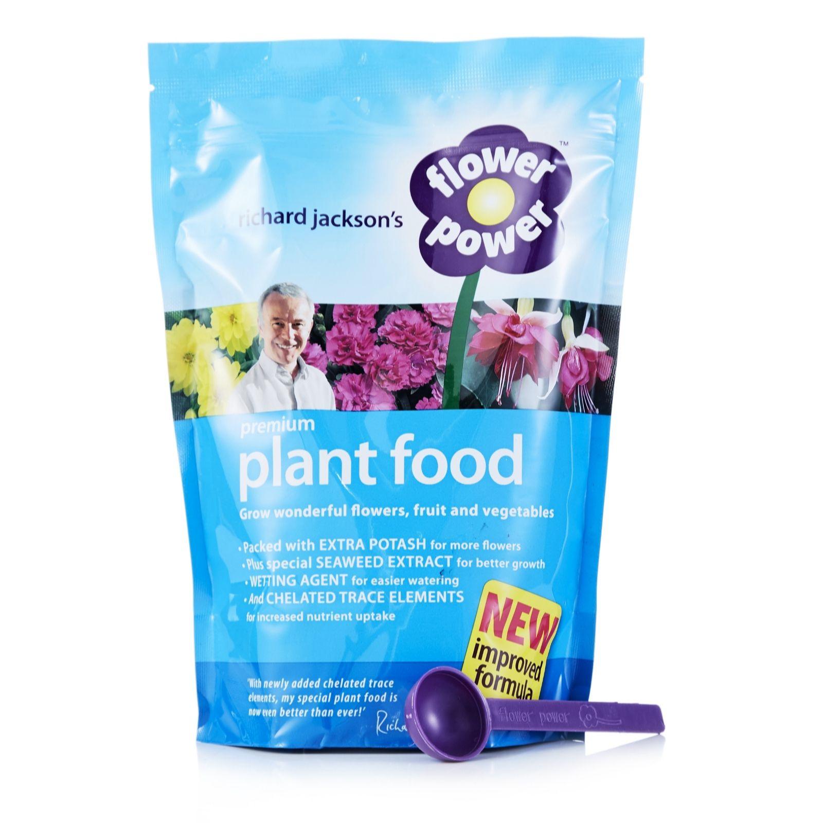 Richard Jackson 750g Flower Power Premium Plant Food   Page 1   QVC UK