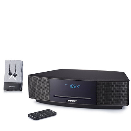 bose wave music system iv with soundtrue ie headphones 507488. Black Bedroom Furniture Sets. Home Design Ideas