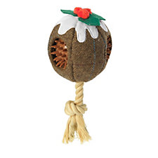 House of Paws Christmas Pudding Pet Toy