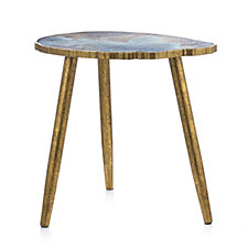508990 - Home Reflections Marbled Side Table