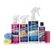 Greased Lightning 7 Piece Waterless Inside & Outside Valeting Car Care Kit