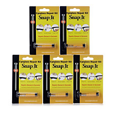 Set of 5 SnapIt Screw Glasses Repair Kits