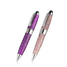Satzuma Set of 2 Glitter Stylus Pens