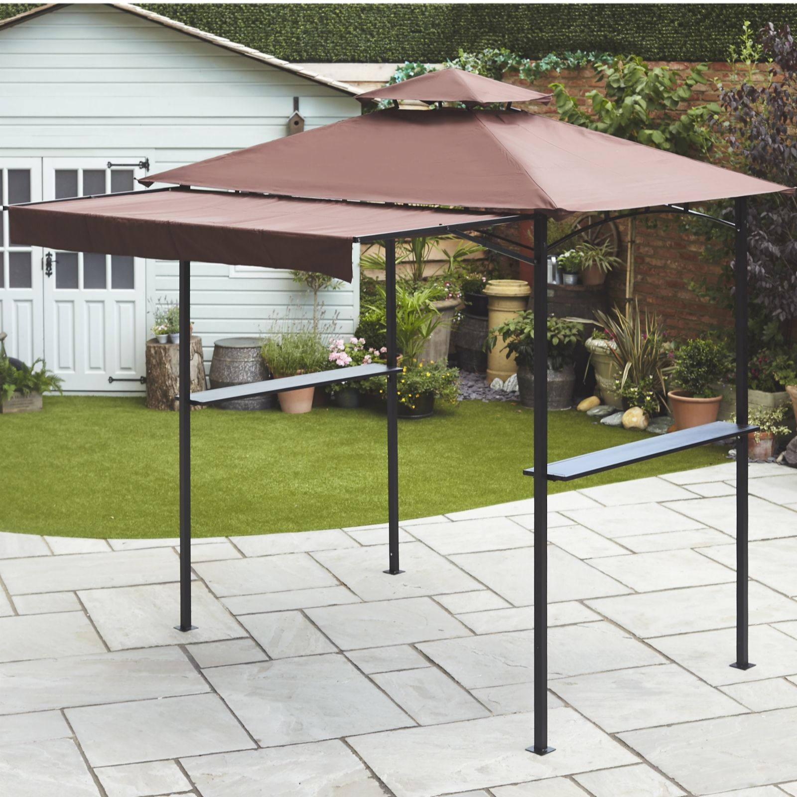 build grill a for gazebo everyone bbq projects diy your backyard awning