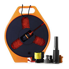 Hydro Hose Lightweight 40ft Hose with Storage Reel & Spray Nozzle