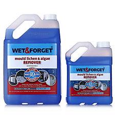 Wet and Forget 5L & 2L  Mould, Lichen & Algae Remover