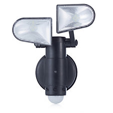 Luxform Dual Headed Battery Operated Security Light