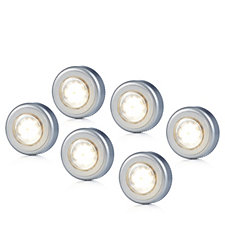 Luxform Set of 6 Battery Operated Multi-Purpose LED Lights