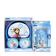 Disney Frozen Powerbank with Suction Cups & Headphones