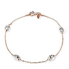 Veronese Glamour Moon 19cm Bracelet Sterling Silver