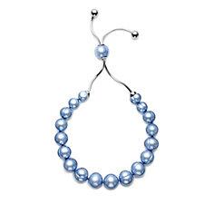 Honora 7-10mm Cultured Pearl Friendship Bracelet Stainless Steel