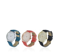 Gossip Set of 3 Ladies Glitter Dial Watches