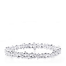 Links of London Effervescence Bubble Bangle Sterling Silver
