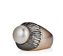 Honora 12mm Pearl Ring Bronze - 640919