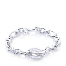 Links of London Signature Charm Chain 18cm Bracelet Sterling Silver
