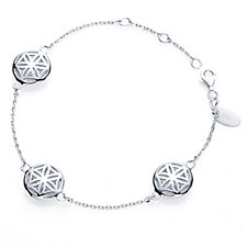 Links of London Maze Circle 20cm Bracelet Sterling Silver