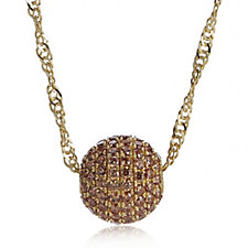 Veronese Singapore Bead 50cm Necklace Sterling Silver