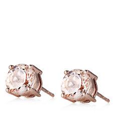 621927 - 2ct Morganite Stud Earrings 9ct Rose Gold