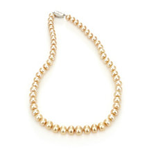 Honora 8-11mm Cultured Pearl Graduated 45cm Necklace Sterling Silver