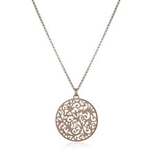 Links of London Tapestry Pendant & 60cm Necklace Sterling Silver
