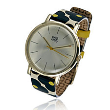 Orla Kiely Ladies Watch Patricia Leather Strap Watch