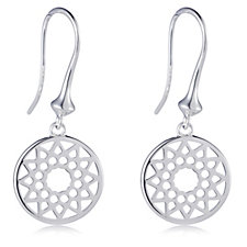 Links of London Timeless Drop Earrings Sterling Silver