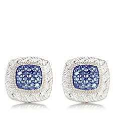 Affinity Diamonds 0.2ct Coloured Diamond Stud Earrings Sterling Silver