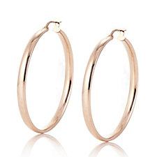 Veronese Hoop Earrings Sterling Silver