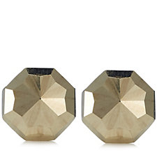 9ct Gold Octagonal Stud Earrings