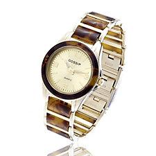 Gossip Ladies Tortoise Shell Bracelet Watch