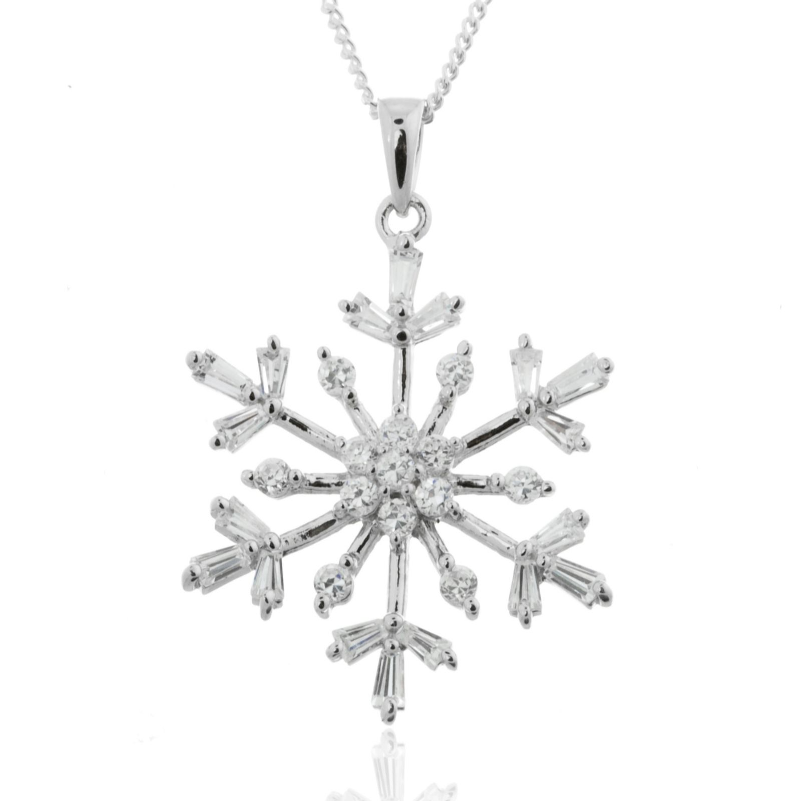 designs snowflake wallach products cherie pendant necklace diamond jewelry dori