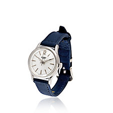 Henry London Mini Dial Leather Strap Watch