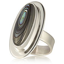 Taxco Traditions Elongated Ring Sterling Silver