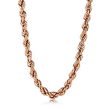 Gold Gallery 9ct Gold 40 Gauge 45cm Rope Chain