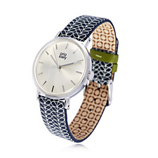 Orla Kiely Ladies Watch Patricia with Leather Strap