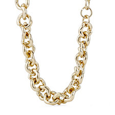Fiorelli Costume Twist Chain 44cm Necklace with Extender