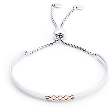Clogau 9ct Gold Sterling Silver Celtic Weave Friendship Bracelet