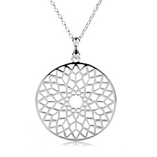 Links of London Timeless Pendant & 81cm Necklace Sterling Silver