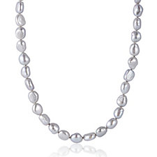 Honora 6-7mm Cultured Pearl 91cm Necklace Sterling Silver