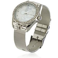 Disney Pave Dial Mesh Strap Watch